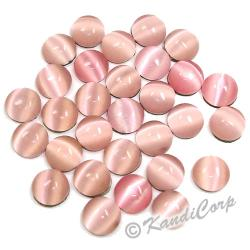 5mm Light Rose TigerEye HotFix
