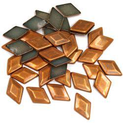 Dome Copper Diamond HotFix Dimensional Metals (6mm)
