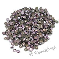 Round 2mm 6ss Light Purple HotFix Octagon Faceted RhineStuds