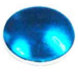 Round   1.5 mm Turquoise HotFix Nailheads