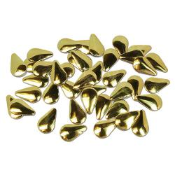 TearDrop 6mmx10mm Gold HotFix Nailheads