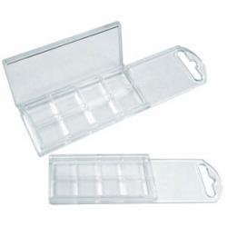 Clear Plastic Box - 8 Compartment