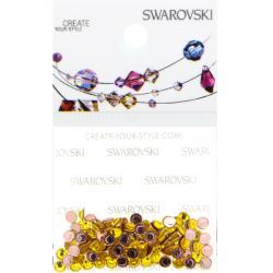 Swarovski Retail Ready Package 2038 3mm (SS10) Citrine - 100 pcs
