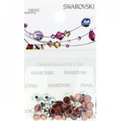 Swarovski Retail Ready Package 2078 4mm (SS16) Crystal AB - 65 pcs