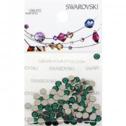Swarovski Retail Ready Package 2088 SS12 Emerald - 100 pcs
