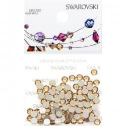 Swarovski Retail Ready Package 2088 SS12 Light Colorado Topaz - 100 pcs