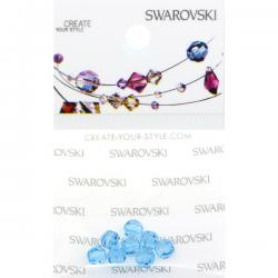 Swarovski Retail Ready Package 5000 4mm Aqua - 8 pcs