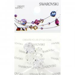 Swarovski Retail Ready Package 5000 8mm Crystal - 4 pcs