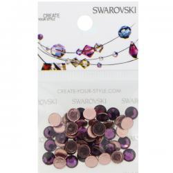 Swarovski Retail Ready Package 2078 5mm (SS20) Amethyst - 50 pcs