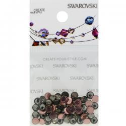 Swarovski Retail Ready Package 2078 4mm (SS16) Black Diamond - 65 pcs
