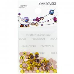 Swarovski Retail Ready Package 2078 4mm (SS16) Citrine - 65 pcs