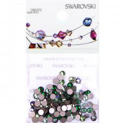 Swarovski 2088 SS12 Flat Back Mix - Boreale Forest (144 pcs)