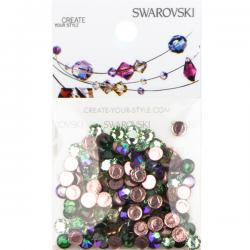 Swarovski 2078 SS16 Hotfix Mix - Boreale Forest (144 pcs)
