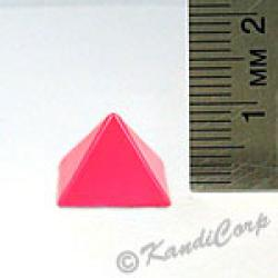 13x9mm Pyramid Screwback Spike - Watermelon (Candy-Colored)